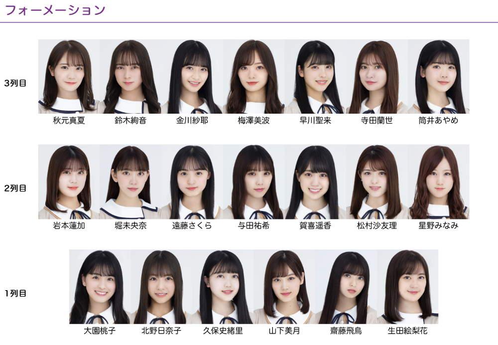 26th 選抜 乃木坂